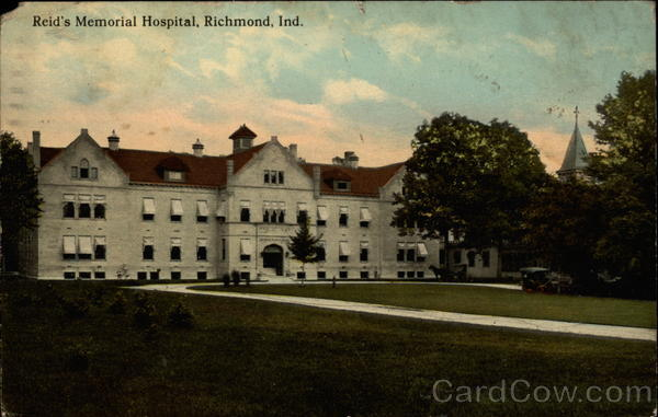 Reid's Memorial Hospital Richmond Indiana