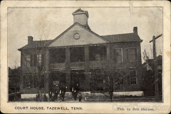 Court House Tazewell Tennessee