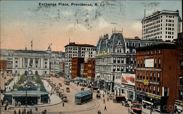 Exchange Place Providence Rhode Island