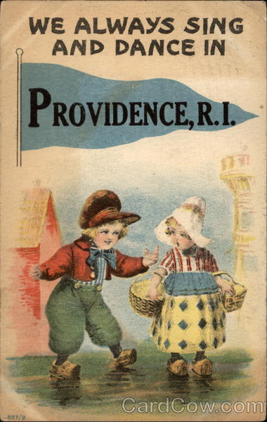 We Always Sing and Dance in Providence, R.I Rhode Island