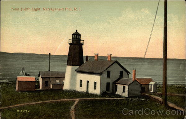Point Judith Light Narragansett Pier Rhode Island