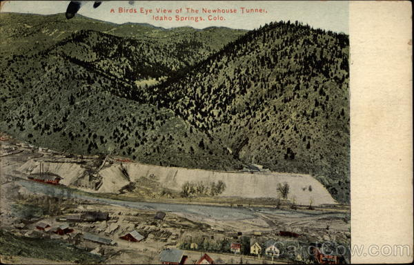 A Bird's Eye View of the Newhouse Tunnel Idaho Springs Colorado
