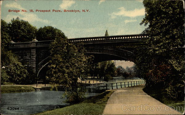 Bridge No. 18, Prospect Park Brooklyn New York