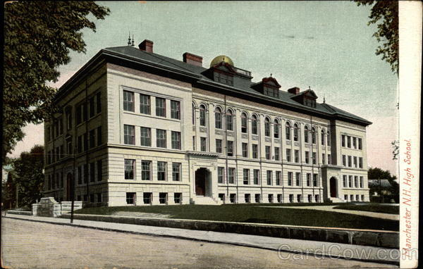 Manchester N.H. High School New Hampshire