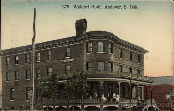 Waldorf Hotel Andover South Dakota