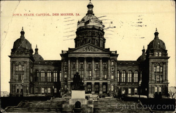 Iowa State Capitol Des Moines