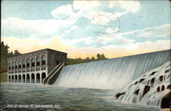 Dam at Vernon, Vt. and Hinsdale, N.H