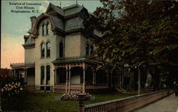 Knights of Columbus Club House Postcard