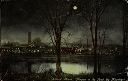 Glimpse of the Pond, by Moonlight