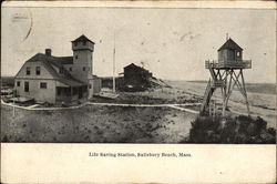 Life Saving Station, Salisbury Beach