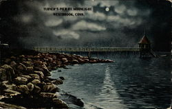 Turner's Pier by Moonlight
