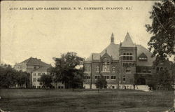 Lunt Library and Garrett Bible, N. W. University