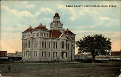 Llano County Court House Postcard