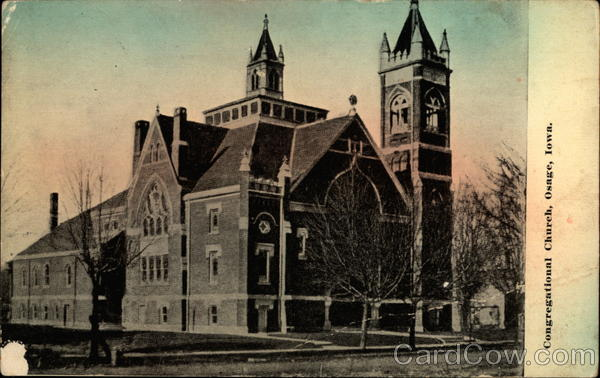 Congregational Church Osage Iowa