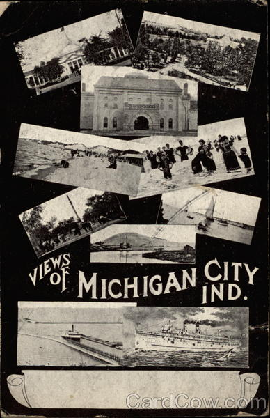 Views of Michigan City Ind Indiana