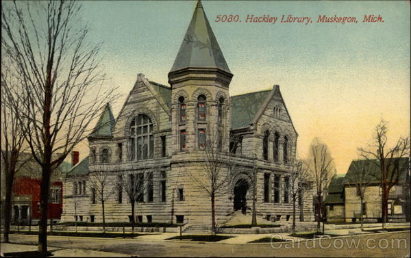 5080 Hackley Library, Muskegon, Mich Michigan
