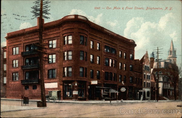 1045 - Corner of Main & Front Streets Binghamton New York