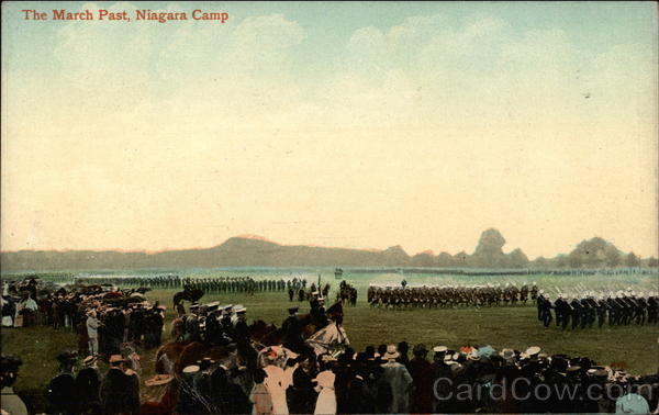 The March Past, Niagara Camp Military