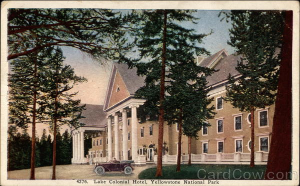 Lake Colonial Hotel Yellowstone National Park Wyoming