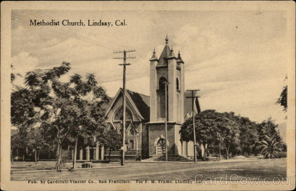 Methodist Church Lindsay California