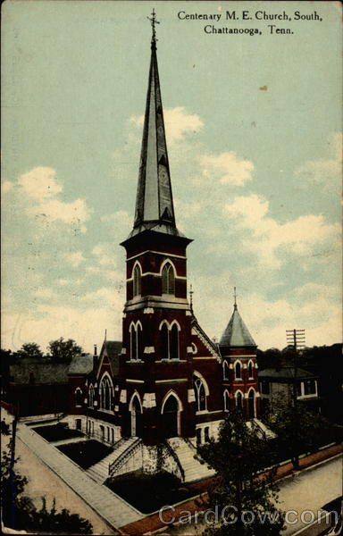 Centenary M.E. Church, South Chattanooga Tennessee