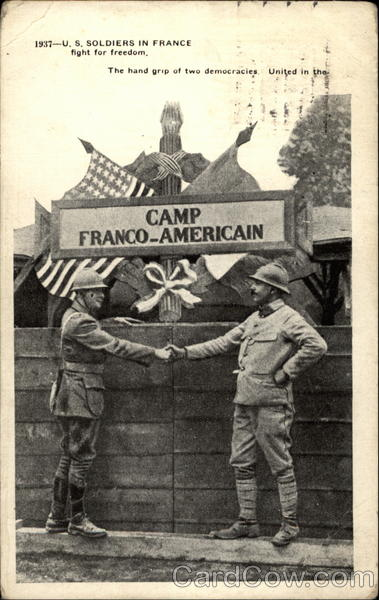 1937 - U.S. Soldiers in France World War I
