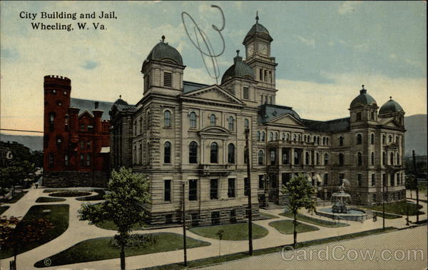 City Building and Jail Wheeling West Virginia