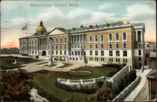 State House Boston Massachusetts
