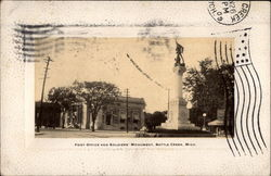 Post Office and Soldiers' Monument
