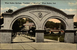 "West Baden Springs, ""Carlsbad of America"""