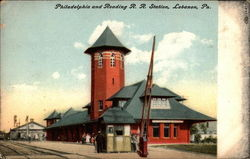 Philadelphia and Reading R. R. Station