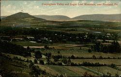 Conyngham Valley and Sugar Loaf Mountain Postcard