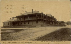 U.S. Army Barracks, Fort Moultrie
