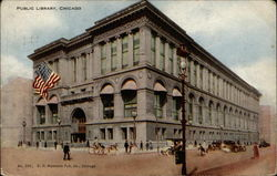 Public Library Postcard