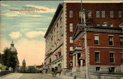 Post Office, Masonic Building and City Hall