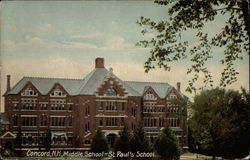 Middle School - St. Paul's School