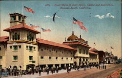 Front View of Bath House, Casino and Auditorium