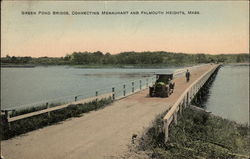 Green Pond Bridge, Connecting Menauhant and Falmouth Heights