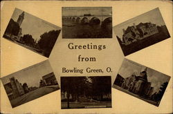 Greetings from Bowling Green, O