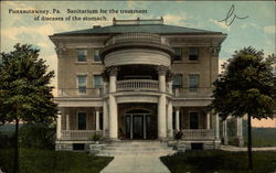 Sanitarium for the Treatment of Diseases of the Stomach Postcard