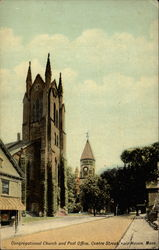 Congregational Church and Post Office, Center Street