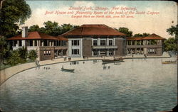 New Refectory, Boat House and Assembly Room Postcard