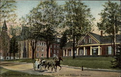 St. Johnsbury Academy (South Hall) and Principals Residence