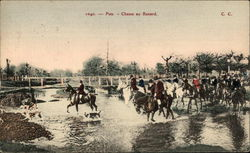 Pau. - Chasse au Renard - The Hunt