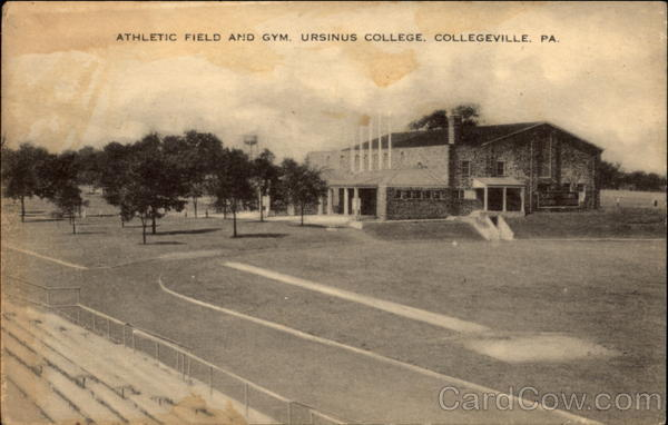 Athletic Field and Gym, Ursinus College Collegeville Pennsylvania