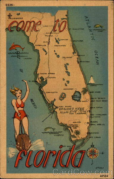 Come To Florida Maps