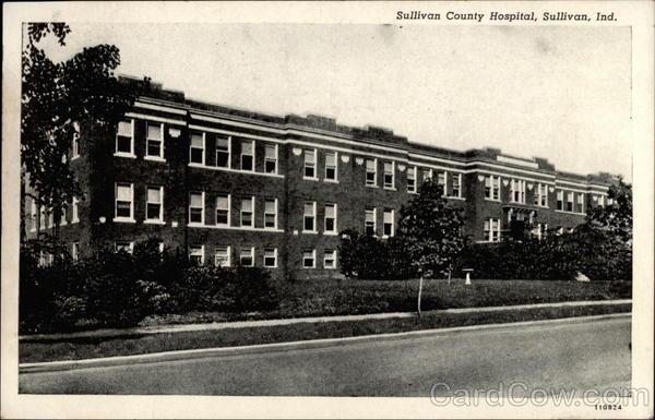 Sullivan County Hospital, Sullivan Ind Indiana