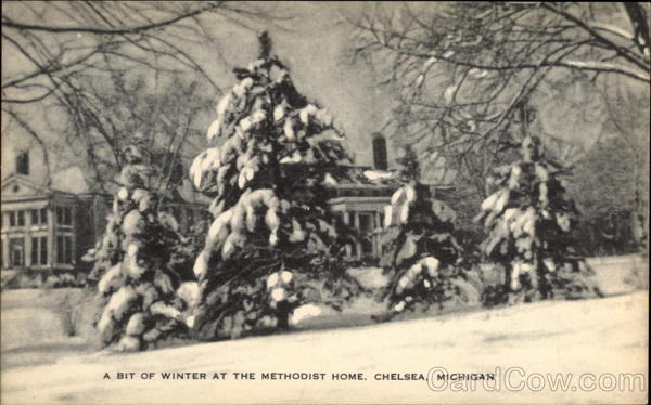 A Bit of Winter at the Methodist Home Chelsea Michigan