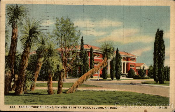Agriculture Building, University of Arizona Tucson