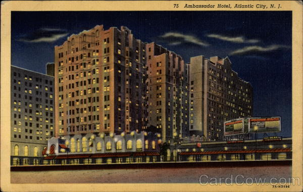 75 Ambassador Hotel Atlantic City New Jersey